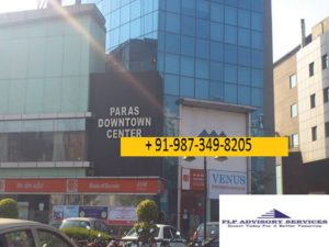 Office space for rent in Paras down town Golf course road Gurgaon:9873498205