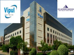 Pre rented property for sale in Vipul Plaza Golf course road Gurgaon